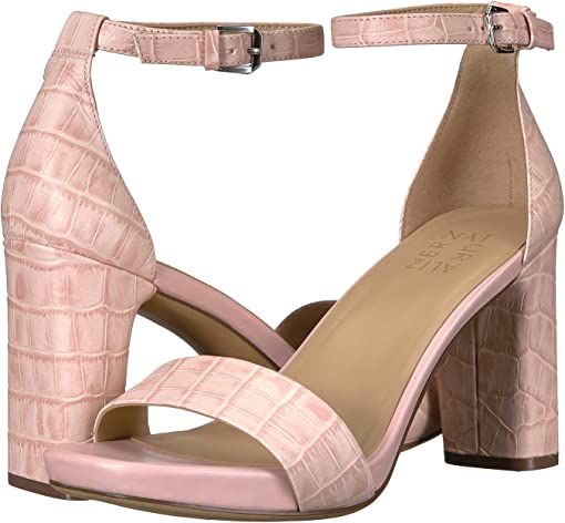 Rose Pink Crocco Leather