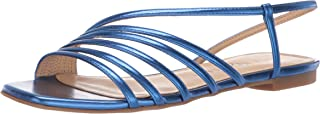 Katy Perry Women's The Pearla Flat Sandal french blue 5 M M US