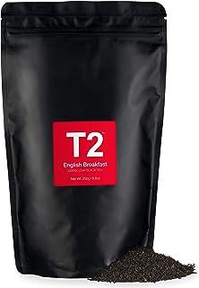 T2 Tea English Breakfast Loose Leaf Black Tea in Resealable Foil Refill Bag, 250g (8.8 Ounce)