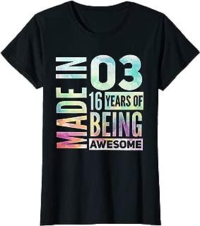 Sweet 16 Birthday Party T-Shirt   Sweet 16th Shirt Gift Idea