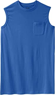 KingSize Men's Big & Tall Longer-Length Lightweight Muscle Tee