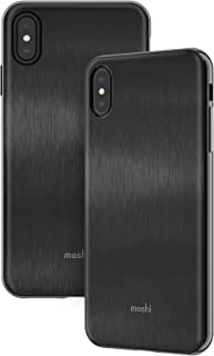 Moshi iGlaze Protection Cover for iPhone XS Max, Black