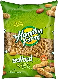Hampton Farms Salted Roasted In-Shell Peanuts, 5 lbs. [Biz Discount]