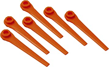 Pack of 10 Spares2go Plastic Blades for Flymo Minimo E25 Strimmer Trimmer