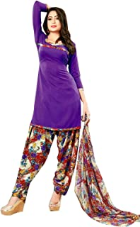 Womens Ready to Wear Salwar Kameez Faux Crepe Printed Indian Stitched Salwar Suit