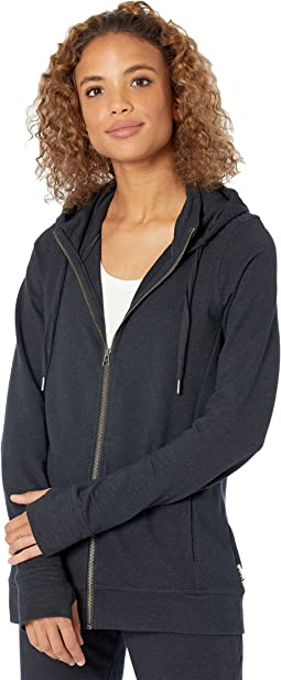 Perfectly Lightweight Organic Cotton Zip Hoodie
