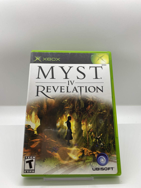 Myst In stock Max 44% OFF IV: Revelation - Xbox