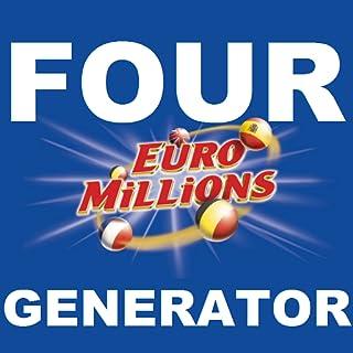 Euromillions Lotto Four Generators, Interactive, Shaker Generator, Quickpick, Favorite Numbers