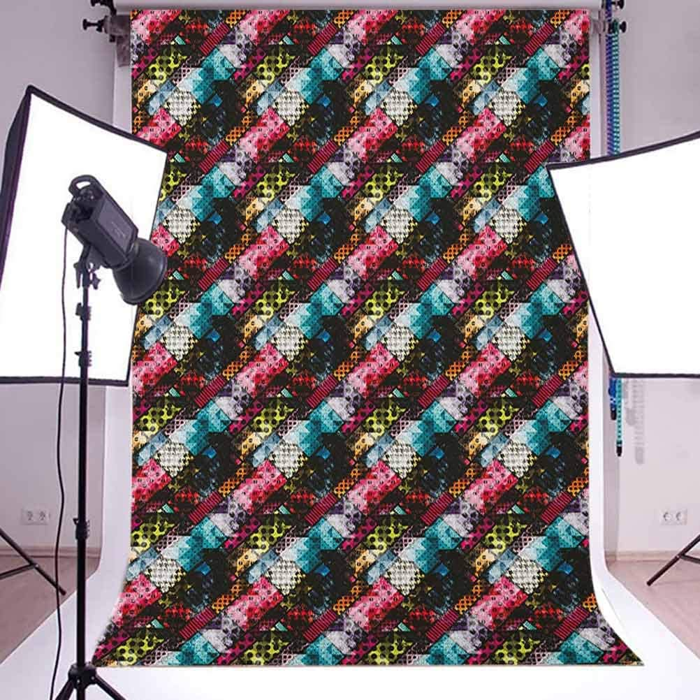 8x12 FT Octopus Vinyl Photography Background Backdrops,Live in The Sunshine Swim The Sea Drink The Wild Air Message Graphic Background for Child Baby Shower Photo Studio Prop Photobooth Photoshoot