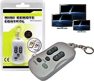 Llavero 2 en 1 con función mando a distancia para la TV: Amazon.es: Electrónica