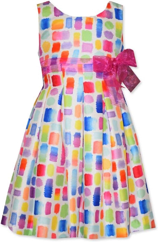 Bonnie Jean Multi Easter Spring Summer Dress Girls