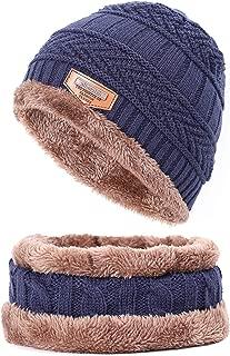 Ron Kite Bonnet Winter Beanie Knitted Hat Cap Thicker Stripe Skis Sports Beanies Hats for Men Women