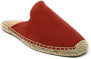 Womens JDMint Jute Casual Espadrilles Trim Rubber Sole Flatform Crochet Slip On Flats