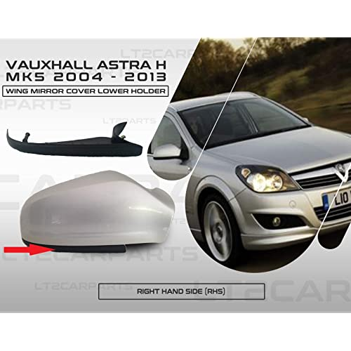 Wing Mirror Cover Cap Casing fit for Vauxhall Astra Opel MK5 Right NSF 04-09