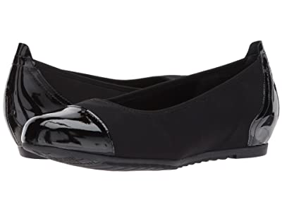 Munro Henlee (Black Fabric/Patent) Women
