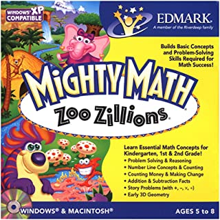 Mighty Math Zoo Zillions Age Rating:5 - 8