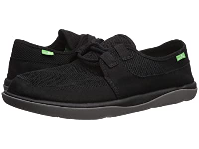 Sanuk What A Tripper Low (Black Mesh) Men