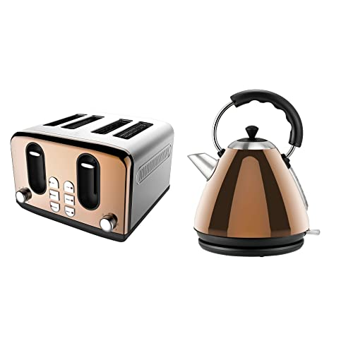 Copper Kettle And Toaster Amazon Co Uk
