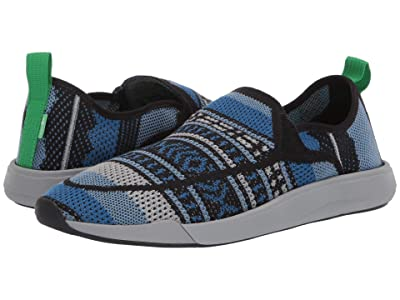 Sanuk Chiba Quest Knit (Blue Blanket) Men