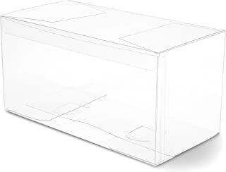 Clear Candy Gift Box, Transparent Boxes for Candy Party Favors (9 x 5 In, 30 Pk)