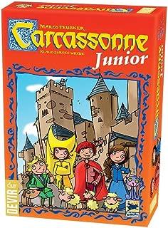 Devir- Carcassonne Junior Juego de Mesa, Multicolor, 27,5 x 6,5 x 19 cm (1BGJCARCAS)