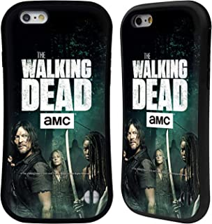 Official AMC The Walking Dead Daryl, Carol & Michonne Season 9 Quotes Hybrid Case Compatible for iPhone 6 / iPhone 6s