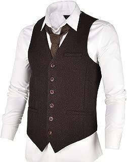 Best mens tweed collared waistcoat Reviews