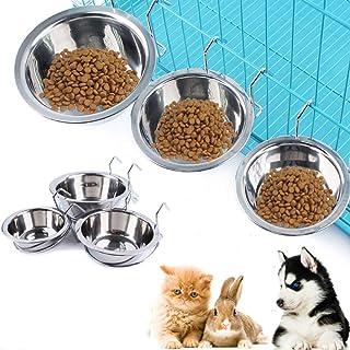 Libre de Silicona Grado alimenticio Plato de Taza expandible para alimento de Gato alimento para Agua Recipiente de Viaje Heaviesk Plato Plegable para Perros