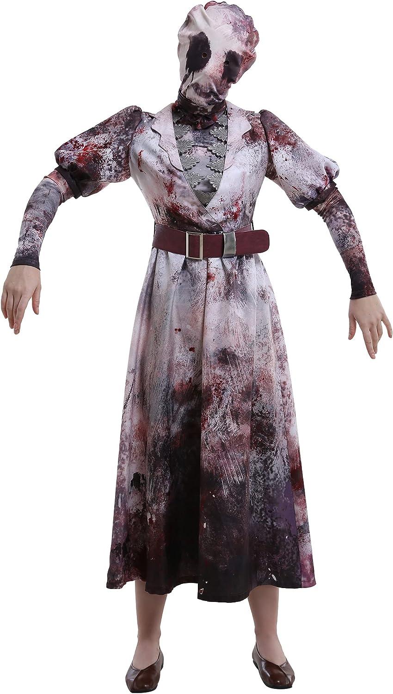 Miccostumes Women's Sally Popular popular Smithson Cosplay Nurse Popular standard Killer Costume