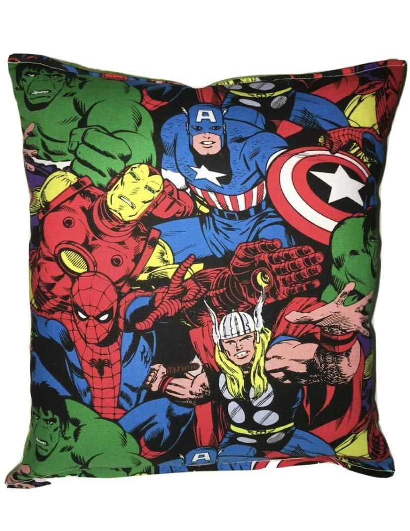 Marvel Pillow Grouped Classics Spiderman mart Thor Hulk Ironma New product