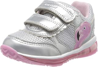 Geox B Todo Girl C, Sneakers Basses Fille
