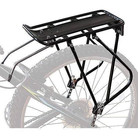 Fahrrad Alu Gepäckträger verstellbar für Mountainbike MTB hinten 24//26//28 Zoll