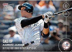 NY Yankees, Aaron Judge (Call-Up) MLB Topps NOW Card 353