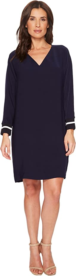 LAUREN Ralph Lauren Crepe Shift Dress