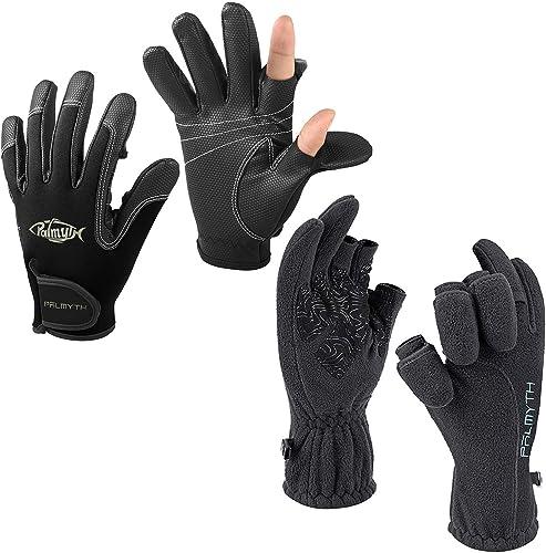 discount Palmyth 2-Cut Fingers online sale Gloves(XL) & Magnetic new arrival Fleece Gloves(XL) online sale