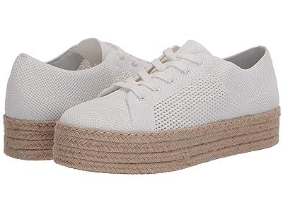 Steve Madden History Espadrille Sneaker (White) Women