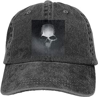 HiPiClothK Unisex Halloween Ghost Recon Wildlands Skull Logo Casquette