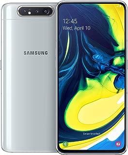 Samsung Galaxy A80 Dual Sim, 128 GB, 8 GB RAM, 4G LTE, Ghost White