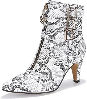 Best snake boot heels Reviews