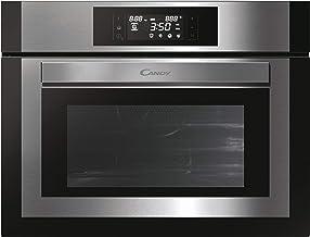 Candy MEC440TXNE -Horno microondas Combinado con 2 Grill, 17 Funciones, Display Digital táctil, Negro, 3350 W, 44 litros, Acero Inoxidable, Black