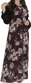 Mlbas_047-$P Women's Long Sleeve Dress