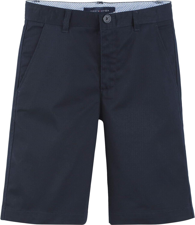 Tommy Hilfiger Flat Front Twill Unifor School Shorts Kids Manufacturer direct delivery Blend 55% OFF