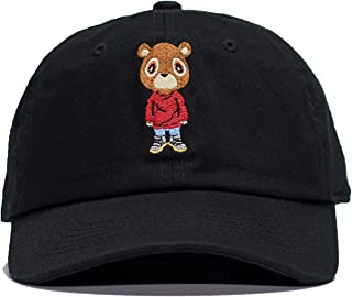 Kanye Graduation Bear Dad Hat in Twilled Cotton