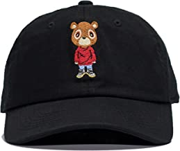 Kanye Graduation Bear Dad Hat in Twilled Cotton