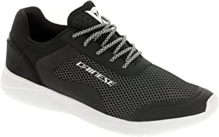 Dainese Afterace Shoes Black/Silver/White (41 EU/8 US)