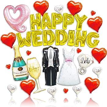 ( Radiant Party ) 超巨大 ウェディング バルーン セット 結婚式 受付 飾り付け ポンプ付き