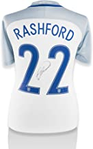 Marcus Rashford England Autographed 2016 Home Jersey - ICONS - Fanatics Authentic Certified - Autographed Soccer Jerseys