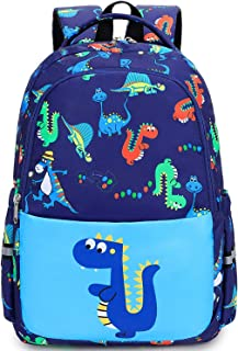 Toddler Backpack for Boys Little Kids Preschool Backpack kindergarten dinosaur School Book Bags with Chest Strap