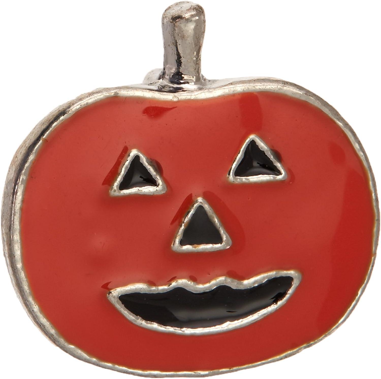 3 8  (10mm) Halloween Slider Charms Pumpkin 3 8  (10mm)