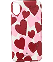 Kate Spade New York - Jeweled Heart Phone Case for iPhone® X